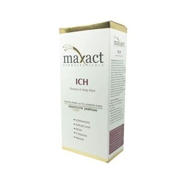 Maxact ICH Shampoo & Body Wash 250ml Renksiz